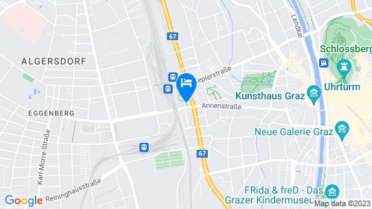 Hotel Daniel Graz Map