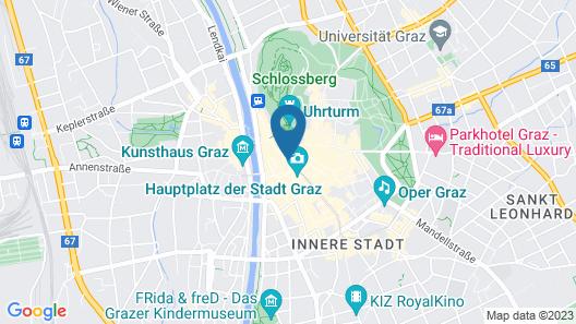 Erzherzog Johann Palais Hotel Map