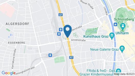 Austria Trend Hotel Europa Graz Hauptbahnhof Map