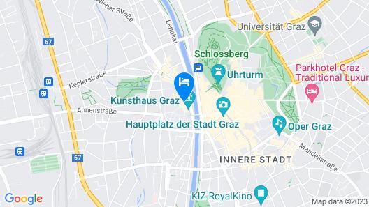 Hotel Mariahilf Map