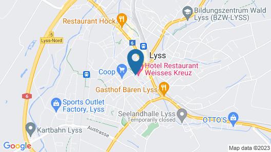 Weisses Kreuz Map