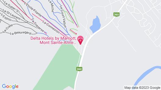 Chateau Mont Sainte Anne Map