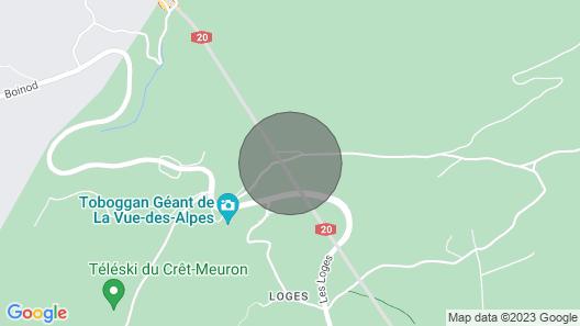 Vacation home Chalet de la Vue des Alpes in La Vue-des-Alpes - 4 persons, 2 bedrooms Map