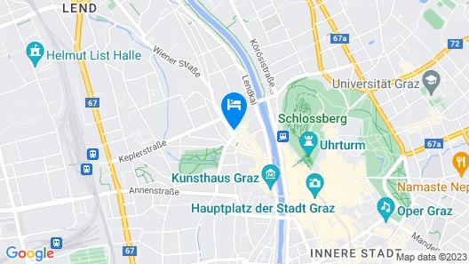 Hotel Mercure Graz City Map