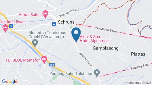 Alpenrose Aktiv & Spa Map