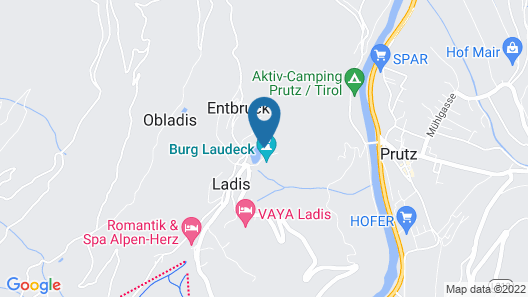 Alpin Chalet am Burgsee Map