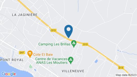 Le Moulin des Tréans Map
