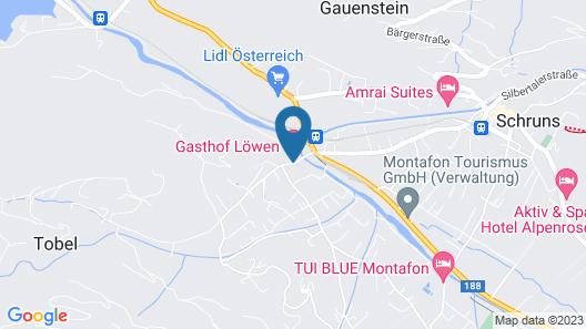 Montafoner Hof Map