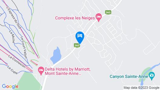 Hébergement JFL, Chalet 7 Map