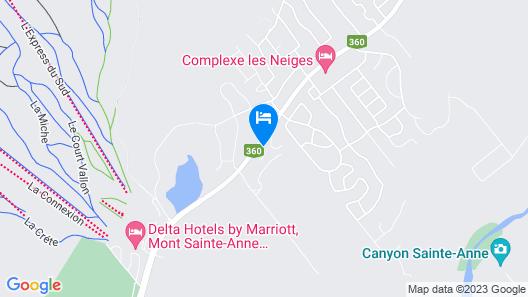 Hébergement JFL, Chalet 5 Map