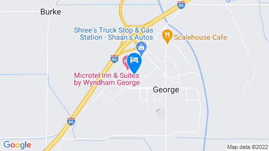Microtel Inn & Suites by Wyndham George Map