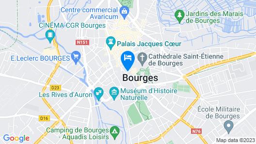 La Demeure Renaissance Map