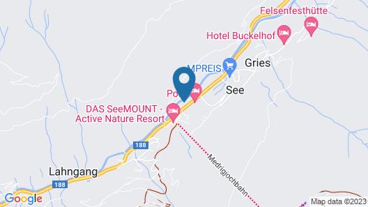 Hotel Enzian Map