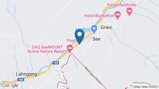 Post Hotel Map