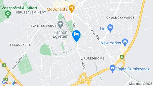 Sport Hotel Map