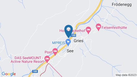 Aparthotel Fortuna Map