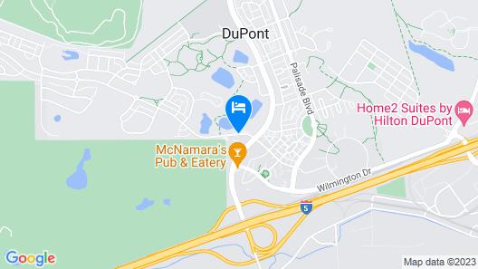 FairBridge Inn & Suites Dupont Map
