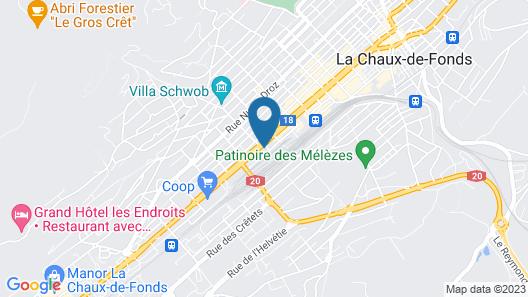 Hébergement du Pod Map