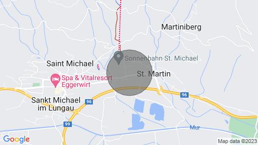 Apartments Premium Appartements Sonnenbahn, St. Michael im Lungau Map