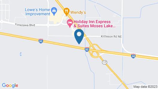 Inn At Moses Lake Map
