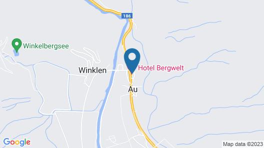 Hotel Bergwelt Map