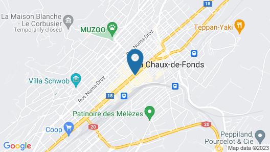 Athmos Hotel Map
