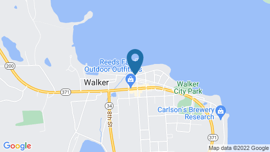 Chase On The Lake Resort Hotel Map