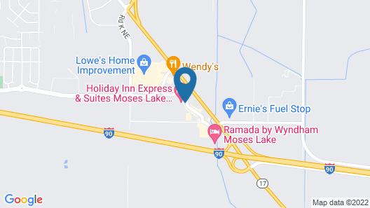 Fairfield Inn and Suites by Marriott Moses Lake Map