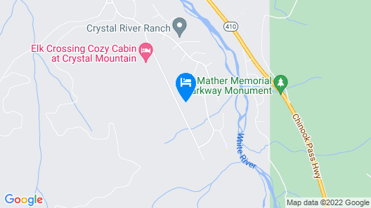 Crystal Mountain Cozy Cabin Map