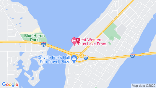 Best Western Plus Lake Front Hotel Map