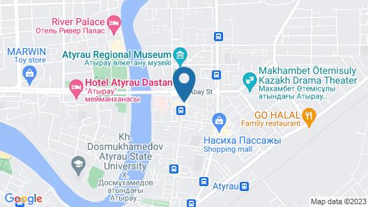 Chagala Residence Atyrau Map