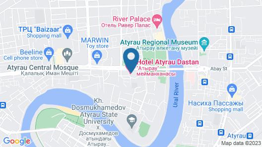 Atyrau Dastan Hotel Map