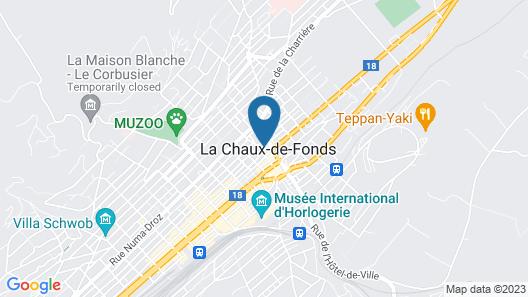 Hôtel Chez Gilles Map