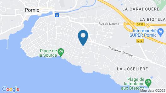 A La Birochère Map