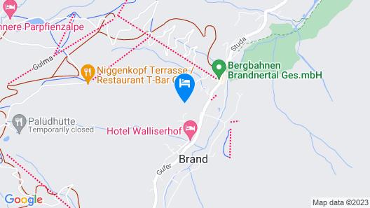 Üser Schlössle Appartements Map
