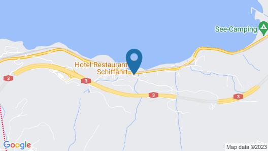 Hotel Schiffahrt Map
