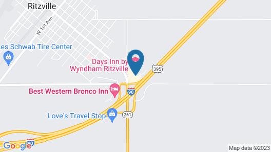 Days Inn by Wyndham Ritzville Map