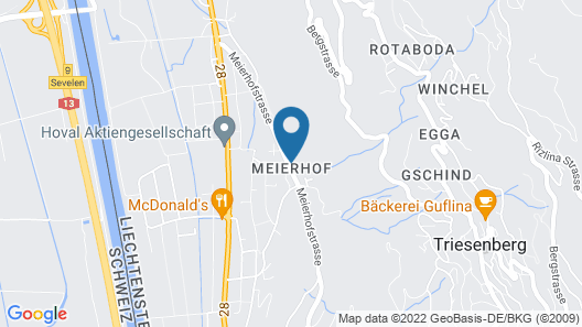 Hotel Meierhof Self-Check-In Map
