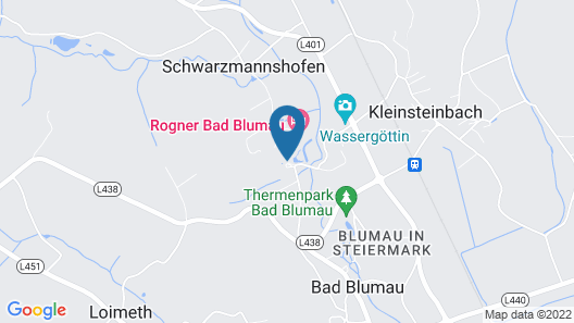 Rogner Bad Blumau Map