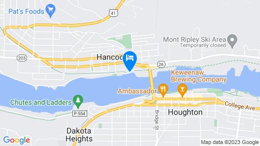 Ramada by Wyndham Hancock Waterfront Map