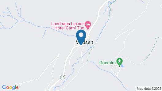 Alpinhotel Berghaus Map