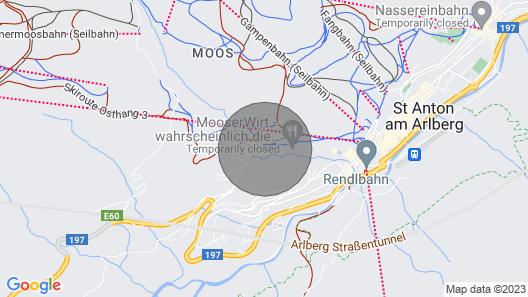 Saint Anton Chalet, Sleeps 12 Map