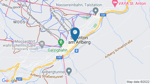 Hotel Grieshof Map