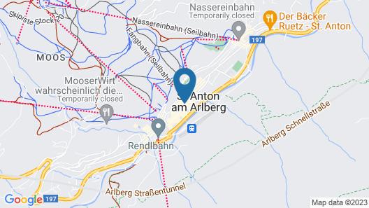 Chalet Scherl Map