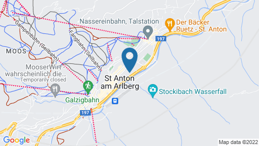 Piltriquitron Lodging St. Anton am Arlberg Map
