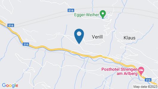 Vacation Home Jagdhaus Strengen in Strengen - 9 Persons, 4 Bedrooms Map