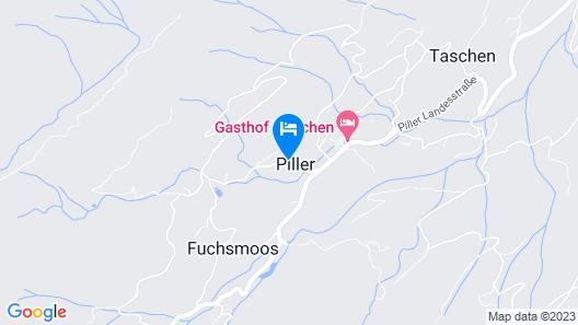 Modern Chalet in Piller Near Ski Area Map