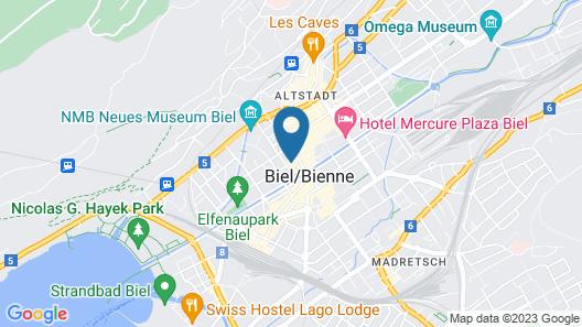 Gaestezimmer Plaenke Map