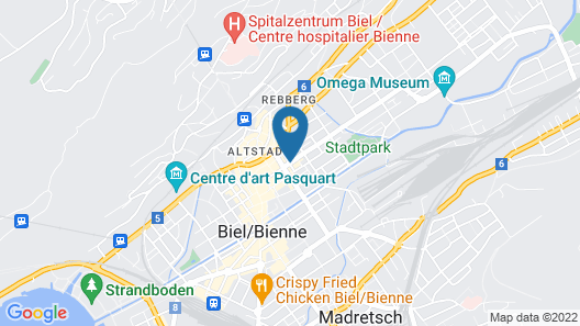 Hotel Dufour Map