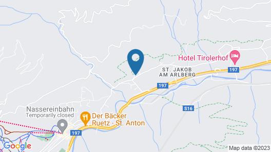 Chalet Brunnenhof Map